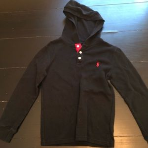 Boys Ralph Lauren Hooded Thermal Size M